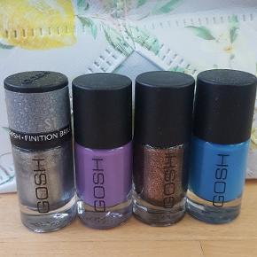 Har 5 lækkre farver gosh neglelakker.  Ønsker en mp på 45. Eller 15 kr. pr. Stk. Kan afhentes i Odense C eller sendes med Dao på køberens regning.