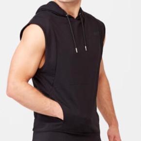 Sort ærmeløs hoodie af mærket Jordan str. M. Kan sendes ...