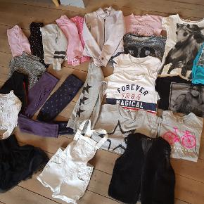 Tøjpakke str 134 140 146  152 Enkelte dele i str s. Forskillige mærker som Pompdelux, H&M, Name it, ovs.  Stand Gmb til Nsn