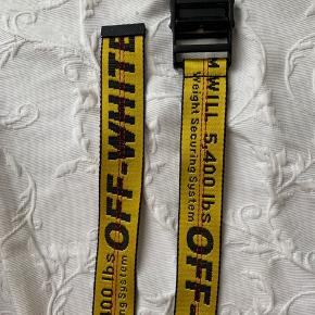 Off-White belt. Used a few times. Bought from farfetch.