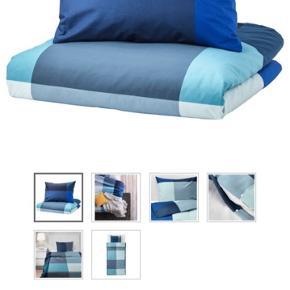 2 x brunkrissla sengetøjssæt fra IKEA. Ny pris 119 pr STK.. Sælges, da jeg fik smidt kvitteringen ud.  Aldrig brugt og stadig i emballage..