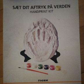 Håndaftryk i gips til babyer