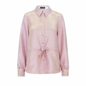 Stine Goya Faith shirt jacket i farven pink lamé.  Brugt en enkelt gang. Som ny.  Nypris 1600.