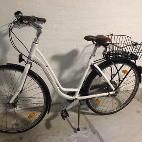 God brugt TREK cykel med 7 gear og med skivebremser - godkendt lås og lys virker - sælges pga køb af elcykel - har lidt rust men ikke meget - service overholdt årligt - er lige blevet tjekket.