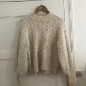 Fin sweater i hvid fra H&M