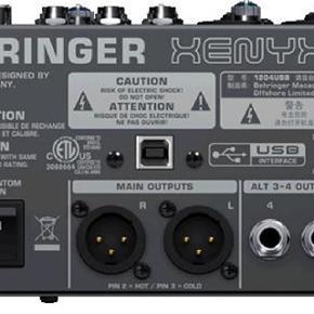 Sælger min Behringer mixer, jeg ikke bruger længere