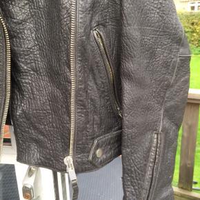 Læderjakke Ægte læder