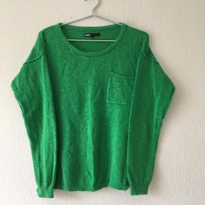 Grøn sweater strik bluse fra Minature, str. M/38-40
