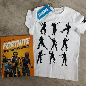Fortnite t-shirt og bog