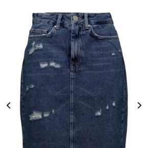 Denim nederdel fra fra Zoe Karssen, stadig med label på. Købspris var 1195