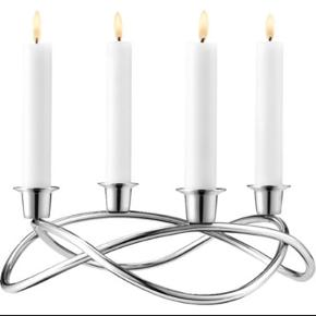 Georg Jensen Advent candle holder. Mirror stainless steel