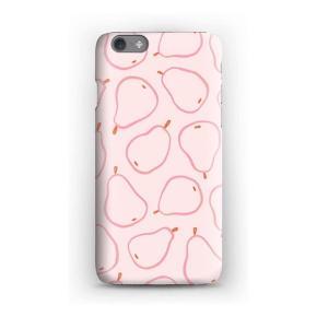 Cover til Iphone 6s købt hos Caseapp.  Hardcase i sart lyserød med lyserøde pærer.  Næsten ubrugt da jeg har købt ny tlf hvor det ikke passer til.   Nypris 269kr