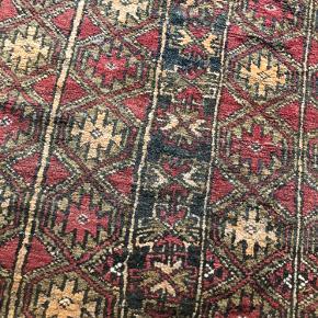 Fint lille vintage tæppe  95x120cm