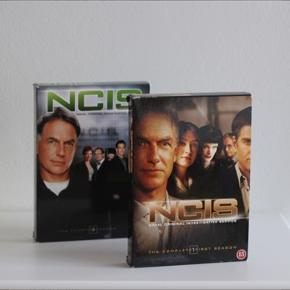 NCIS dvd pakker.  NCIS sæson 1 og 4.  45 pr. Boks. 80 for begge
