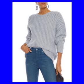 Grå sweater fra IRO  Str. S (passer en S-M)  Kun brugt to gange.  Nypris: 3.100 kr. MP: 1.000 kr.  INGEN BYTTE!