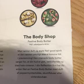 Body Butter fra Body Shop, fra Goodiebox. Ubrugt. Kan sendes med Porto Nord.