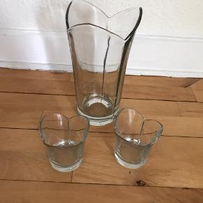 Erik Bagger lysestager og vase