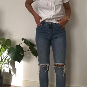 Str 28 (165) - jeg er 1.64 høj  Boyfriend jeans eller mom jeans