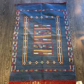 150x100 cmVintage akhnif tæppe fra Marokko