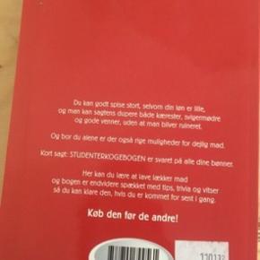 Studenter kogebogen  -fast pris -køb 4 annoncer og den billigste er gratis - kan afhentes på Mimersgade 111 - sender gerne hvis du betaler Porto - mødes ikke andre steder - bytter ikke