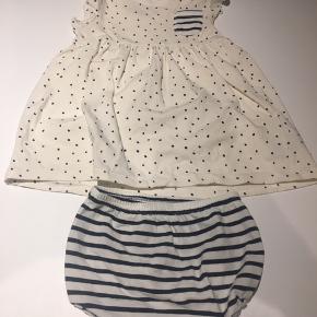 Hvid Name it kjole, med tilhørende underdel