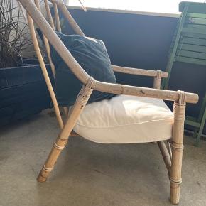 Super fin retro bambus stol. Sælges grundet pladsmangel.