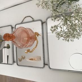 Fransk vintage spejl 🌟💞 Intakte spejle Hænge spejl  Fremstår med brugsspor - kan males eller taprestes på bagsiden