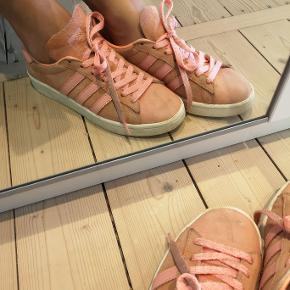 Adidas Campus Sneakers.  God stand, bortset fra det ene snørebånd der er begyndt at trevle.
