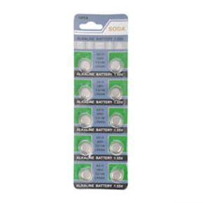 Knapcellebatterier Ag 12