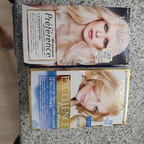 2 helt nye hår farver sælges