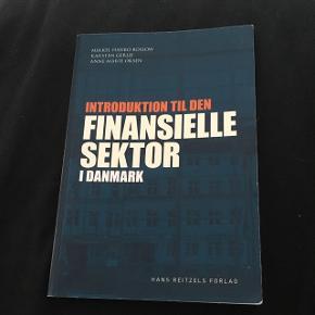 Introduktion til den finansielle sektor ISBN nummer: 9788741256870 Uden overstregninger og noter Nypris 175,-