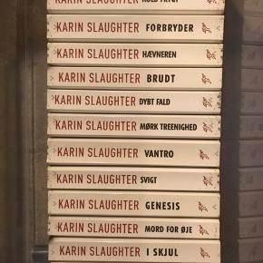 13 bøger fra den berømte krimi-serie om Sara Linton af Karin Slaughter