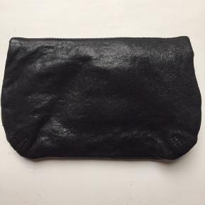 Læder clutch fra Stylesnob - brugt 1 gang  Nypris: 500kr