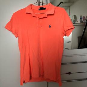 Neon orange ralph laurent polo kun brugt et par gange😊