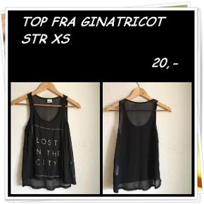 Top fra ginatricot str xs