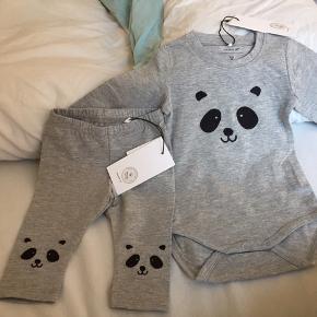 Et par søde babytøj, som er sat til salg.   Det er fejlkøb- prisen er fast for et tøjsæt☺️
