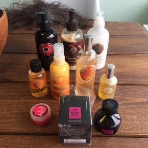 Diverse produkter fra the bodyshop  Sælges helst samlet