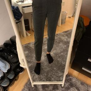 Sort glimmer bukser brugt en gang