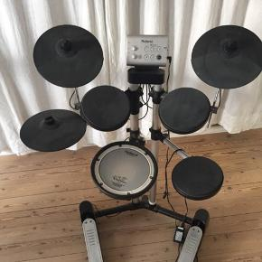 Elektroniske trommer fra Roland.