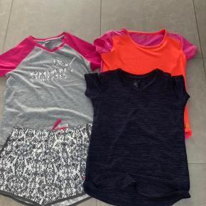 Puma sæt samt 2 t-shirts i dry fit materiale