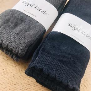 2 par leggings str. 152-176. -Dark Grey -Midtnight Blue  Passer fra 11-12 år.  Helt nye, aldrig brugt!