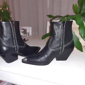 De fedeste læder støvler, brugt et par gange! Nypris omkring 1000 kr.