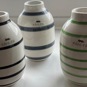 Sælger disse kähler vaser  Fejler Intet og har ingen skår  150kr