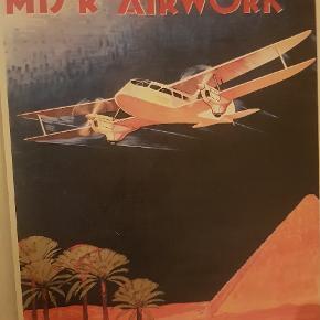 3 flotte retro plakater uden fejl fra en gammel samling. 900 kr for alle 3  450 kr pr stk