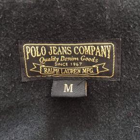Sort Ralph Lauren jakke i str. M.