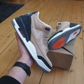 Nike Air Jordan 3 JTH Bio Beige Str 43 Cond 9.5 - Brugt 1 gang! Ingen boks eller kvittering Pris 1000kr @ffsneaks