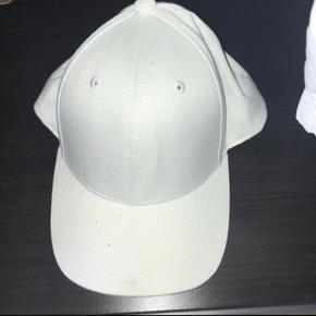 Hvid kasket