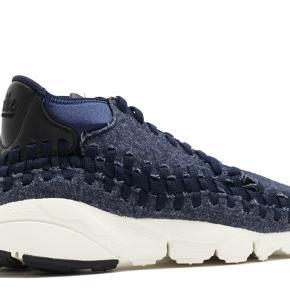 Nike air footscape, Chukka, str 45, navy  Næsten som ny, kun brugt få gange og sælger derfor kun fordi jeg ikke får dem brugt.