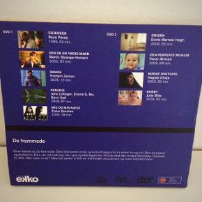 9 film på 2 dvd'er, fra Ekko.   Se info på billede 2.  Fast pris. - plus porto.   Betaling: Kontant eller MobilePay.  Bytter ikke.  Annoncen slettes når solgt, så ingen grund til at spørge om dette.