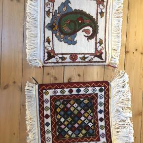 Ægte persiske tæpper fra byen Kermal i Iran. Nye og ubrugte. 700kr stk.